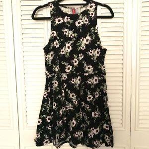 H&M Floral Print Mini Dress